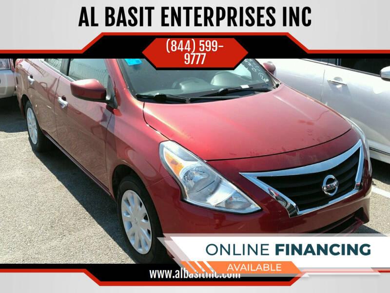 2017 Nissan Versa for sale at AL BASIT ENTERPRISES INC in Riverside CA