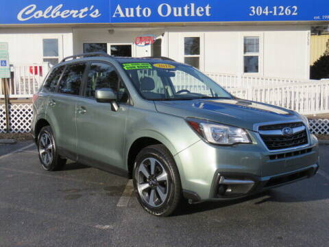 2018 Subaru Forester for sale at Colbert's Auto Outlet in Hickory NC