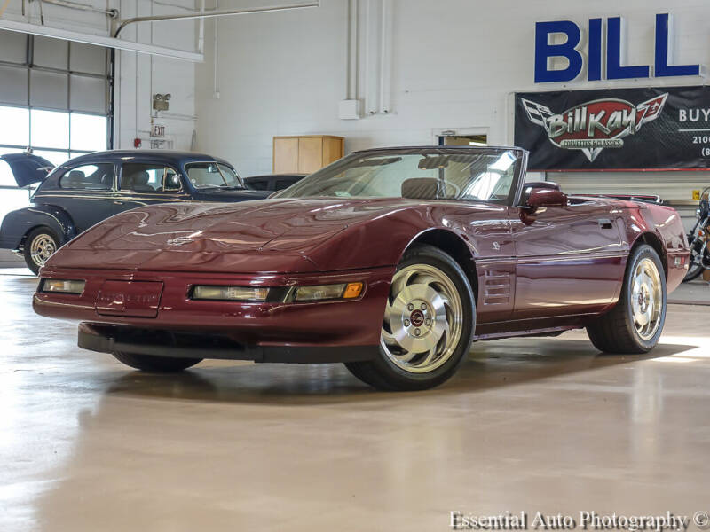 1993 Chevrolet Corvette for sale at Bill Kay Corvette's and Classic's in Downers Grove IL