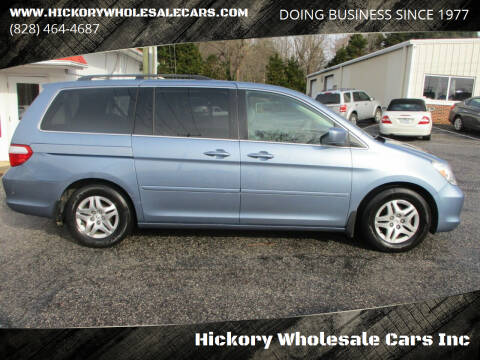2007 Honda Odyssey for sale at Hickory Wholesale Cars Inc in Newton NC