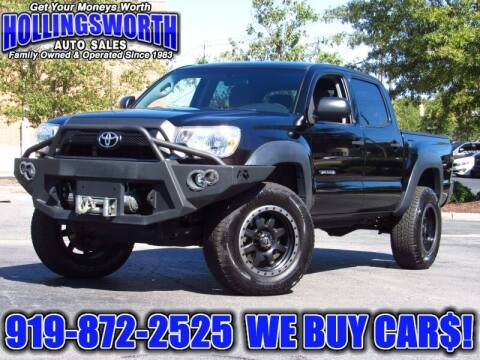 2015 Toyota Tacoma for sale at Hollingsworth Auto Sales in Raleigh NC