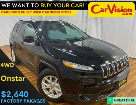 2017 Jeep Cherokee for sale at Car Vision Mitsubishi Norristown - Car Vision Philly Used Car SuperStore in Philadelphia PA