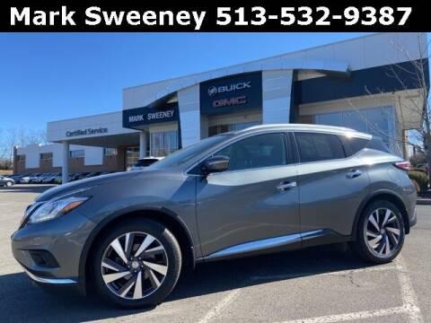 2015 Nissan Murano for sale at Mark Sweeney Buick GMC in Cincinnati OH