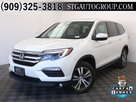 2017 Honda Pilot for sale at STG Auto Group in Montclair CA
