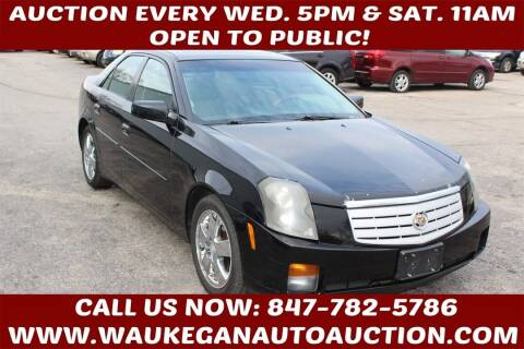 2007 Cadillac CTS for sale at Waukegan Auto Auction in Waukegan IL