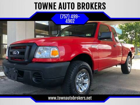 2008 Ford Ranger for sale at TOWNE AUTO BROKERS in Virginia Beach VA