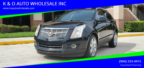2011 Cadillac SRX for sale at K & O AUTO WHOLESALE INC in Jacksonville FL