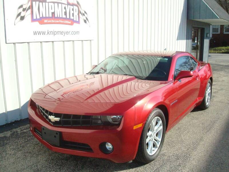 2013 Chevrolet Camaro for sale at Team Knipmeyer in Beardstown IL