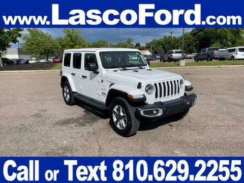 2020 Jeep Wrangler Unlimited for sale at Lasco of Grand Blanc in Grand Blanc MI