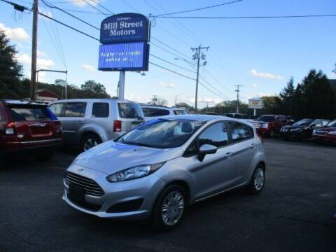 2016 Ford Fiesta for sale at Mill Street Motors in Worcester MA