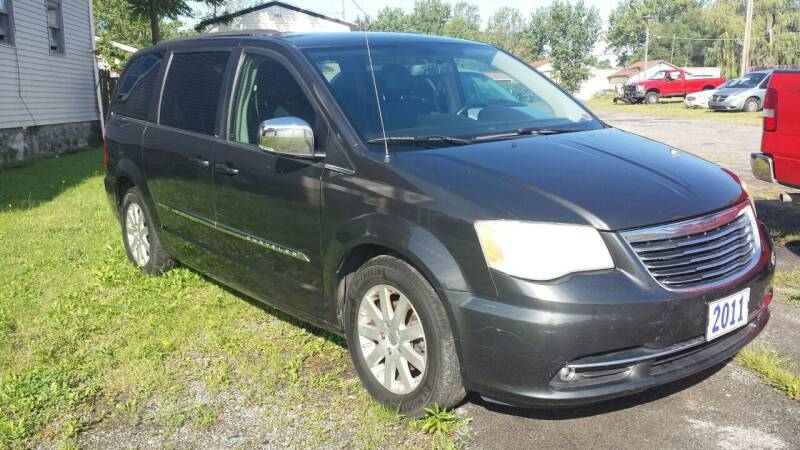 2011 Chrysler Town and Country for sale at T & R Adventure Auto in Buffalo NY