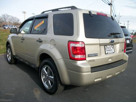 2012 Ford Escape for sale at Lentz's Auto Sales in Albemarle NC