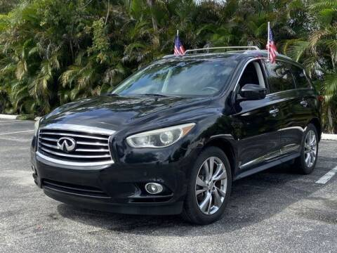 2013 Infiniti JX35 for sale at Palermo Motors in Hollywood FL