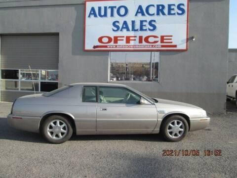 2002 Cadillac Eldorado for sale at Auto Acres in Billings MT