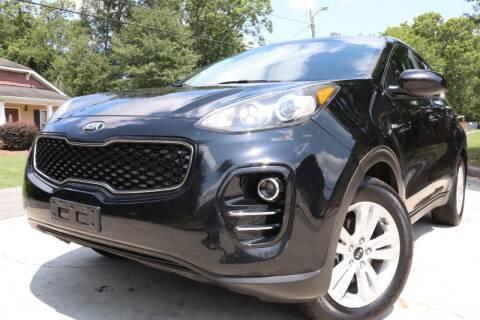 2017 Kia Sportage for sale at Cobb Luxury Cars in Marietta GA