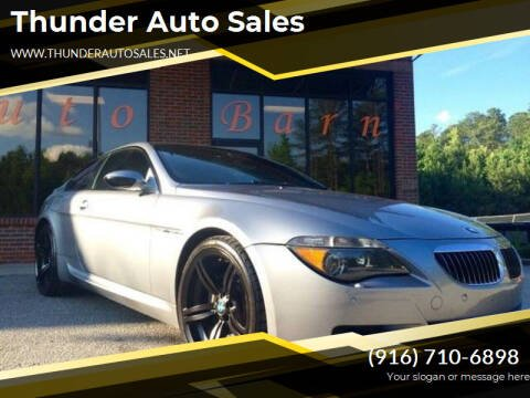 2006 BMW M6 for sale at Thunder Auto Sales in Sacramento CA