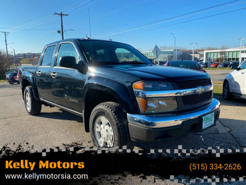 2005 Chevrolet Colorado for sale at Kelly Motors in Johnston IA