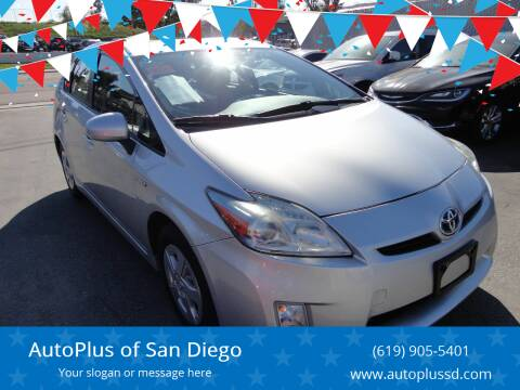 2010 Toyota Prius for sale at AutoPlus of San Diego in Spring Valley CA