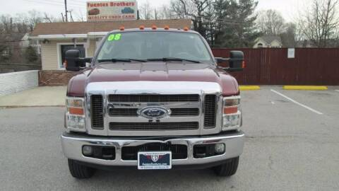 2008 Ford F-350 Super Duty for sale at Fuentes Brothers Auto Sales - Jessup in Jessup MD