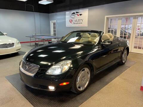 2002 Lexus SC 430 for sale at Quality Autos in Marietta GA