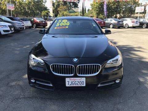 2015 BMW 5 Series for sale at EXPRESS CREDIT MOTORS in San Jose CA