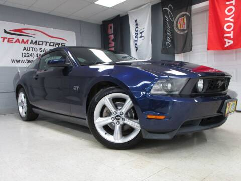 2010 Ford Mustang for sale at TEAM MOTORS LLC in East Dundee IL