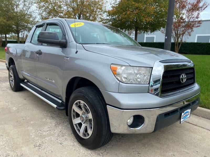 2008 Toyota Tundra for sale at UNITED AUTO WHOLESALERS LLC in Portsmouth VA