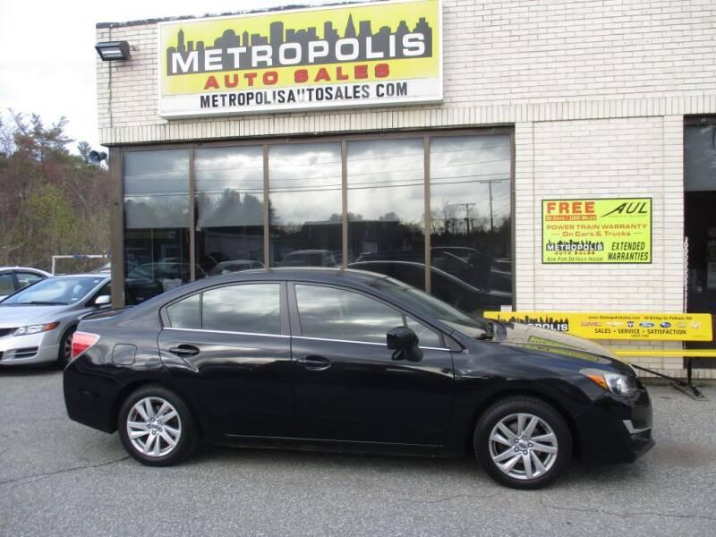 2016 Subaru Impreza for sale at Metropolis Auto Sales in Pelham NH