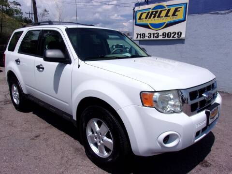2010 Ford Escape for sale at Circle Auto Center in Colorado Springs CO