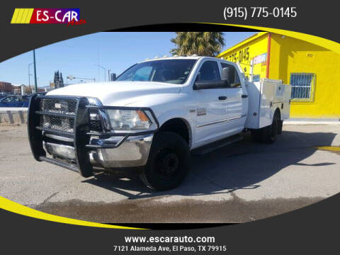 2013 RAM Ram Chassis 3500 for sale at Escar Auto in El Paso TX