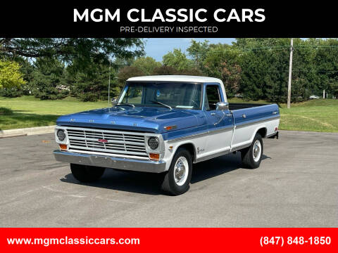 1968 Ford F-250 for sale at MGM CLASSIC CARS-New Arrivals in Addison IL
