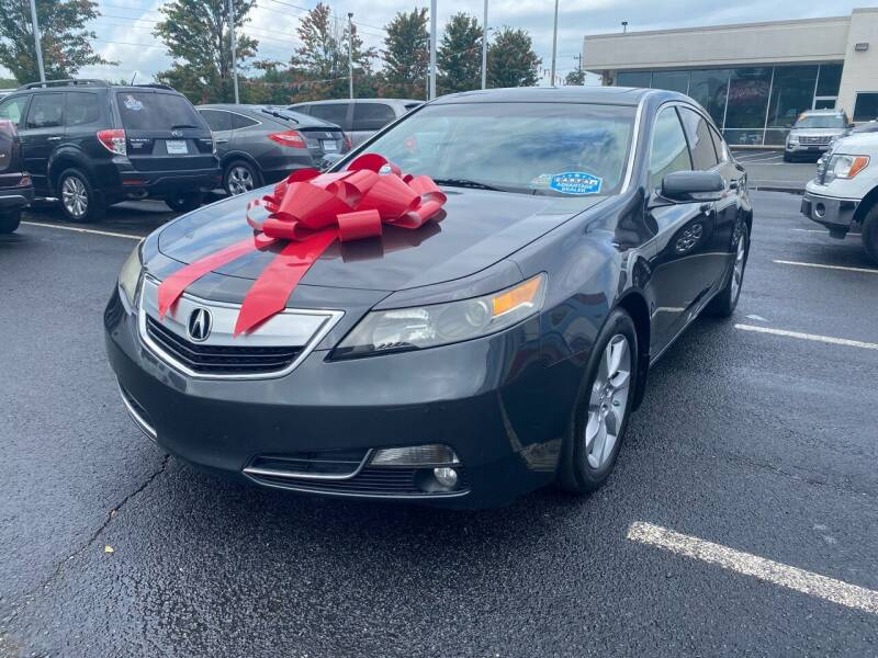 2012 Acura TL for sale at Charlotte Auto Group, Inc in Monroe NC