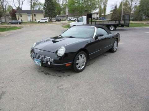 2002 Ford Thunderbird for sale at Stoufers Auto Sales, Inc in Madison Lake MN