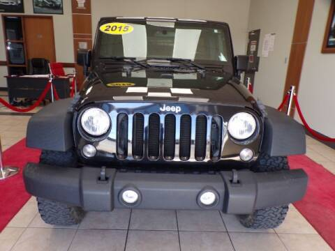 2015 Jeep Wrangler Unlimited for sale at Adams Auto Group Inc. in Charlotte NC