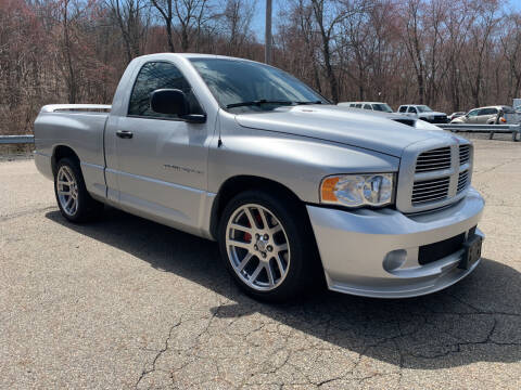 2005 Dodge Ram Pickup 1500 SRT-10 for sale at George Strus Motors Inc. in Newfoundland NJ