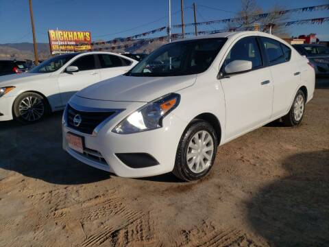 2019 Nissan Versa for sale at Bickham Used Cars in Alamogordo NM