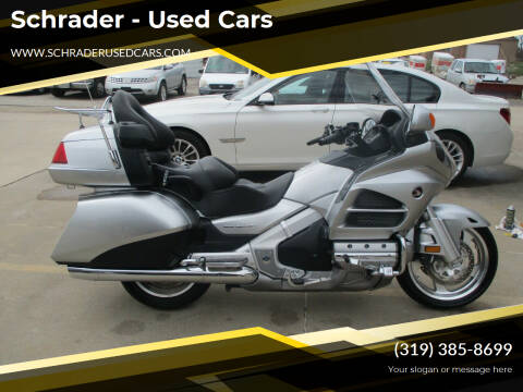 2013 Honda Goldwing for sale at Schrader - Used Cars in Mt Pleasant IA