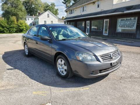 2005 Nissan Altima for sale at Motor House in Alden NY
