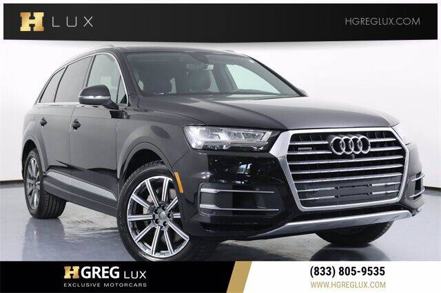 2017 Audi Q7 for sale at HGREG LUX EXCLUSIVE MOTORCARS in Pompano Beach FL