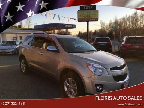 2012 Chevrolet Equinox for sale at FLORIS AUTO SALES in Anchorage AK