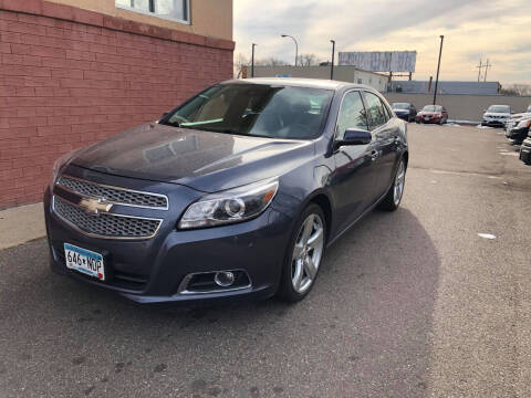 2013 Chevrolet Malibu for sale at Nice Cars Auto Inc in Minneapolis MN