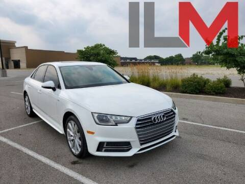 2018 Audi A4 for sale at INDY LUXURY MOTORSPORTS in Fishers IN