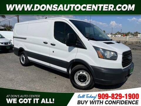 2016 Ford Transit Cargo for sale at Dons Auto Center in Fontana CA