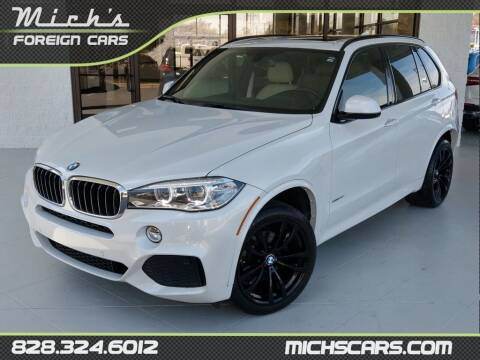 2017 BMW X5 for sale at Mich's Foreign Cars in Hickory NC