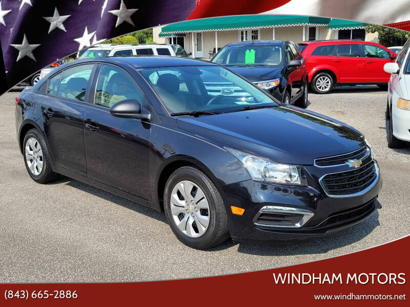 2016 Chevrolet Cruze Limited for sale at Windham Motors in Florence SC