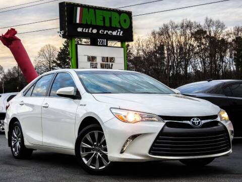2016 Toyota Camry Hybrid for sale at Used Imports Auto - Metro Auto Credit in Smyrna GA