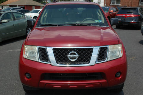 2008 Nissan Pathfinder for sale at D&H Auto Group LLC in Allentown PA