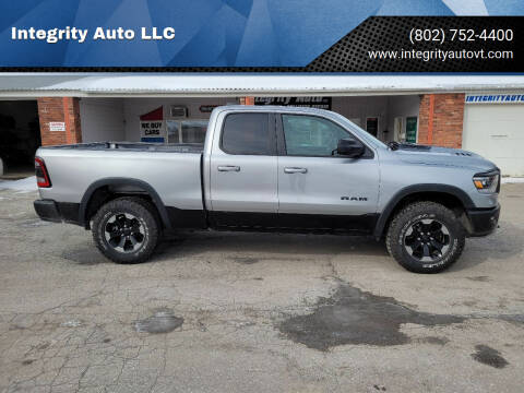 2020 RAM Ram Pickup 1500 for sale at Integrity Auto LLC - Integrity Auto 2.0 in St. Albans VT