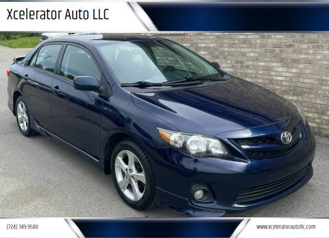 2012 Toyota Corolla for sale at Xcelerator Auto LLC in Indiana PA