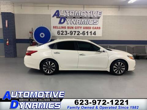 2016 Nissan Altima for sale at Automotive Dynamics in Sun City AZ